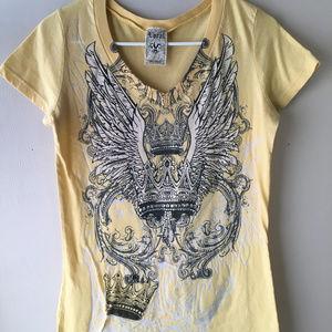 Crown & Wings Vocal BOHO Shirt